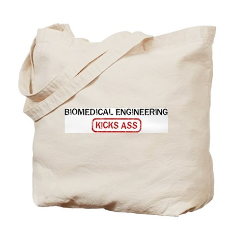 BIOMEDICAL ENGINEERING kicks Tote Bag
