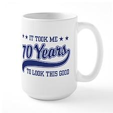 Funny 70th Birthday Mugs