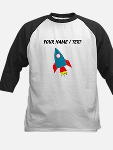 Custom Cartoon Rocket Ship Baseball Jersey