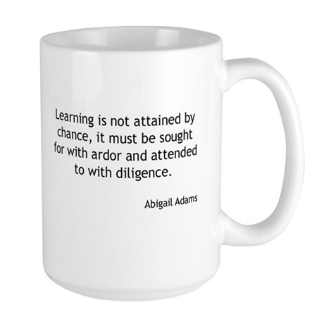 Abigail Adams - Learning Mugs