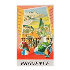 Provence, France,Travel, Vintage Poster 3'x5' Area