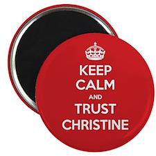 Trust Christine Magnets