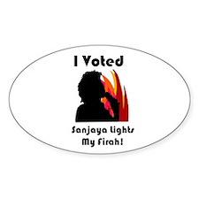 Sanjaya Sticker!