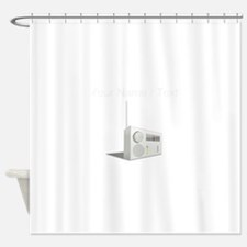 Custom Radio Shower Curtain