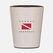 Azores Portugal Dive Shot Glass