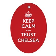Trust Chelsea Ornament (Oval)