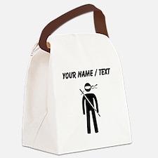 Custom Ninja Canvas Lunch Bag