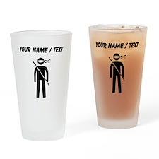 Custom Ninja Drinking Glass