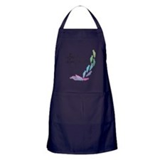 Free yourself, Live your dreams Apron (dark)