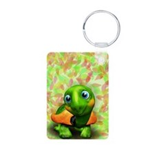 Green Turtle Baby 3D Keychains