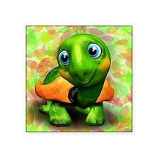 Green Turtle Baby 3D Sticker