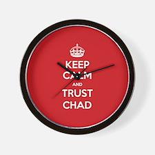 Trust Chad Wall Clock