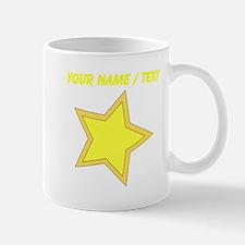 Custom Yellow Star Mugs