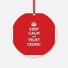 Trust Cedric Ornament (Round)