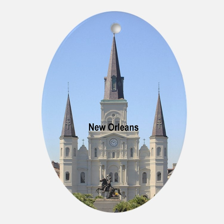 New Orleans Ornament (Oval)