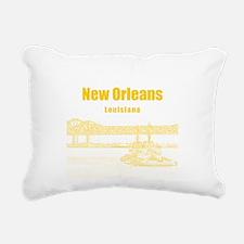 New Orleans Rectangular Canvas Pillow