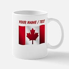Custom Canadian Flag Mugs