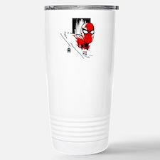 Spider-Man Face Travel Mug