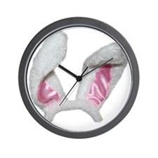 Put On Your Bunny Ears Wall Clock