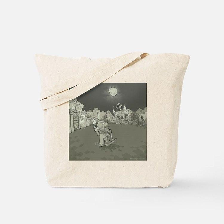 MInecraft Nightmare Tote Bag