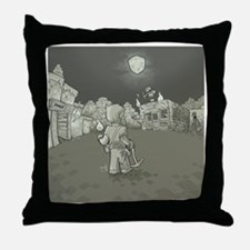 MInecraft Nightmare Throw Pillow