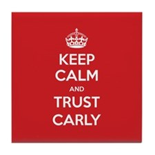 Trust Carly Tile Coaster