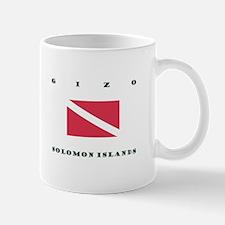 Gizo Solomon Islands Dive Mugs