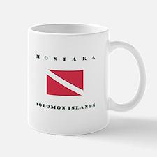 Honiara Solomon Islands Dive Mugs