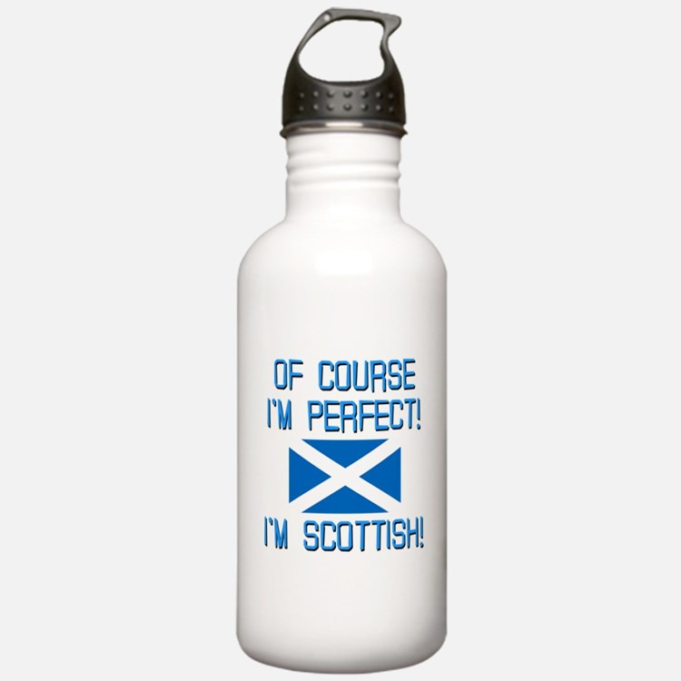 I'm Perfect I'm Scotti Water Bottle