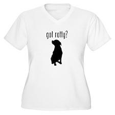 got rotty? Plus Size T-Shirt