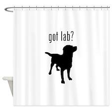 got lab? Shower Curtain