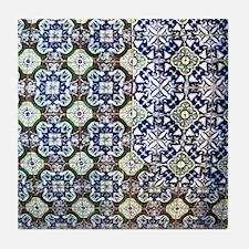 Mexican Tile Design Tile Coaster