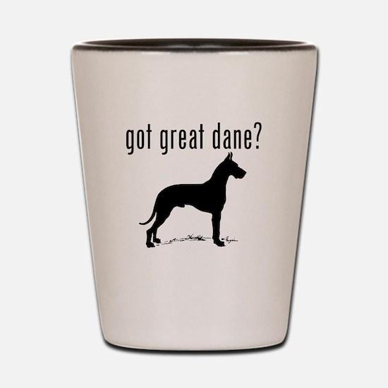 got great dane? Shot Glass