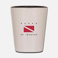 Saban St. Martin Dive Shot Glass