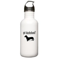 got dachshund? Sports Water Bottle