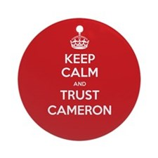 Trust Cameron Ornament (Round)