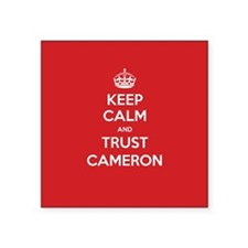Trust Cameron Sticker