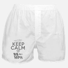 Keep Calm and Hit 88MPH Boxer Shorts