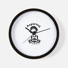 Aspiring Ajuma Wall Clock