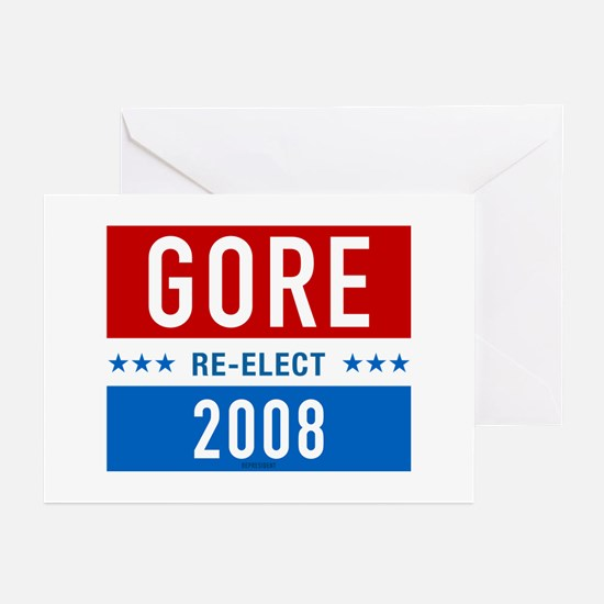 Re-elect Al Gore Greeting Cards (Pk of 10)