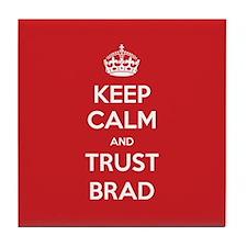 Trust Brad Tile Coaster