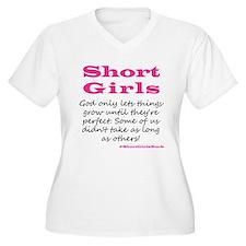 Short Girls Plus Size T-Shirt