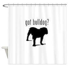 got bulldog? Shower Curtain
