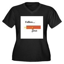 Follow Jesus Plus Size T-Shirt
