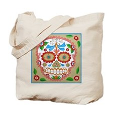 """Eden Folwell """"Amor"""" Day of the Dead Tote Bag"""