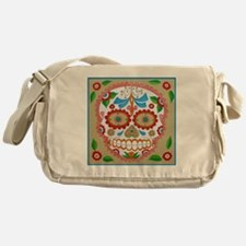 "Eden Folwell ""Amor"" Day of the Dead Messenger Bag"