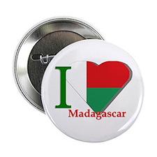 I love Madagascar Button