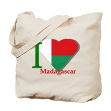 I love Madagascar Tote Bag