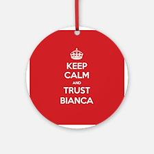 Trust Bianca Ornament (Round)