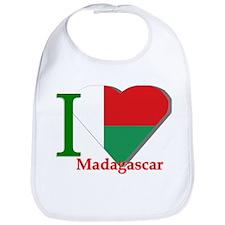 I love Madagascar Bib